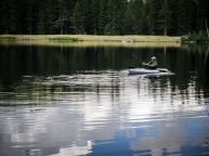 Lost Lake is perfect for people-powered boats