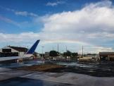 A rainbow greeted us in San Juan