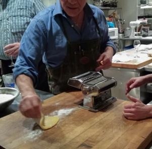 Using the hand crank Atlas machine