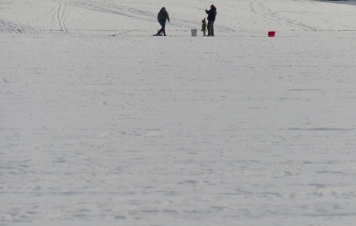 Ice anglers