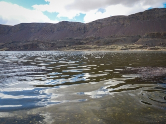 Reflections on Lake Lenore