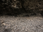 One of the famous Lake Lenore Caves. They are more like basalt overhangs or shelters.