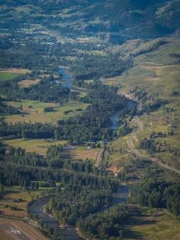 Looking down valley towards Twisp