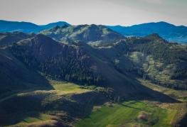 Some steep hillsides