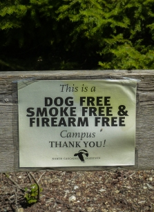 I hate to see dogs lumped in with guns and smoking.
