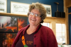 Donna K, founder of the Methow Gallery