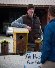 Patrick talks about his nest boxes