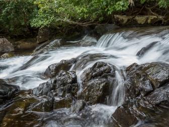 Part of the upper cascades