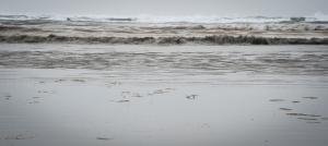 I like watching waves.