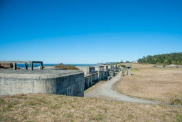Fort Casey ruins