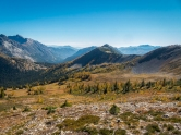 Looking towards the Methow Valley