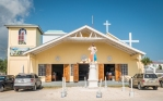 A church in Belize City