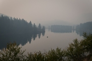 Patterson Lake. Less than a mile visibility.