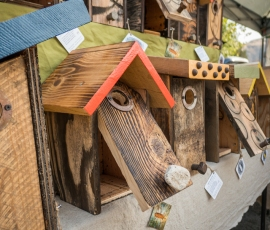 Species specific nest boxes for your neighborhood birds