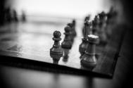 Chess set at the ILC