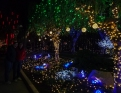 An over the top holiday light display in Mesa.