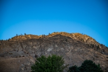 I left early and caught the morning light creeping down the rocky hillsides