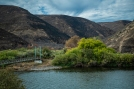 The Yakima Canyon at Umptanum Creek. Most of that side of the canyon burned a week or so before I was there.